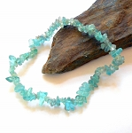 Blue Apatite Chip Stretch Bracelet