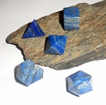 Lapis Sacred Geometry Platonic Solids Set