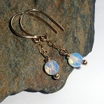 Opalite Gold Fill Earrings