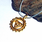Throat Chakra Vermeil Necklace