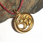 Namaste Charm Vermeil Necklace