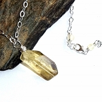 Lemon Smoky Quartz Necklace