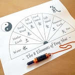 Feng Shui Pendulum Chart - Digital Download