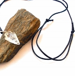 Clear Quartz Arrowhead Necklace