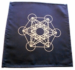 Crystal Grid Cloth - Metatrons Cube