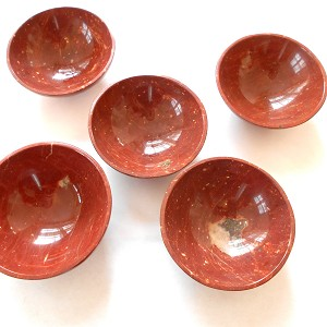 Red Jasper Gemstone Bowl